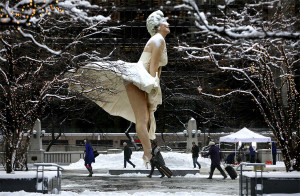 Winter with Marilyn - Chicago